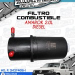 FILTRO COMBUSTIBLE AMAROK 2.0L DIESEL
