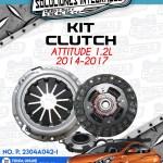 KIT CLUTCH ATTITUDE 1.2L 2014-2017