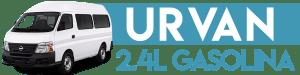 URVAN 2.4L GASOLINA