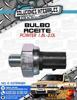 BULBO ACEITE POINTER 1.8l-2.0L