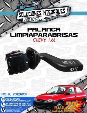 PALANCA LIMPIAPARABRISAS CHEVY 1.6L