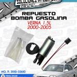 REPUESTO BOMBA GASOLINA VERNA 1.5L 2000-2005