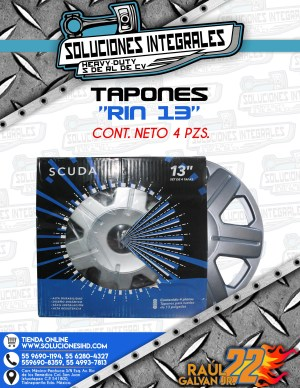 TAPONES RIN 13