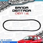BANDA DENTADA CHEVY 1.6L