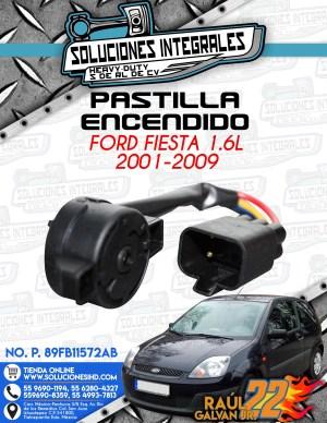 PASTILLA ENCENDIDO FORD FIESTA 1.6L 2001-2009