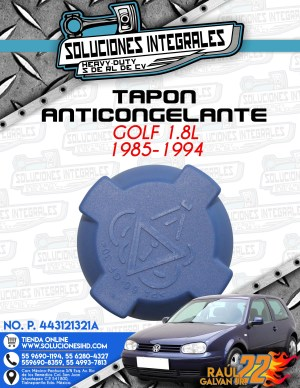 TAPÓN ANTICONGELANTE GOLF 1.8L 1985-1994