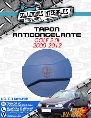 TAPÓN ANTICONGELANTE GOLF 2.0L 2000-2012