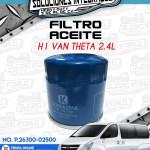 FILTRO ACEITE H1 VAN THETA 2.4L