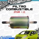 FILTRO COMBUSTIBLE SPARK 1.2L