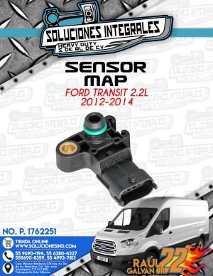 SENSOR MAP FORD TRANSIT 2.2L 2012-2014