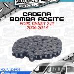 CADENA BOMBA ACEITE FORD TRANSIT 2.2L 2006-2014