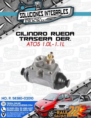 CILINDRO RUEDA TRASERO DERECHO ATOS 1.0L-1.1L