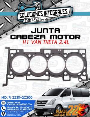 JUNTA CABEZA MOTOR  H1 VAN THETA 2.4L