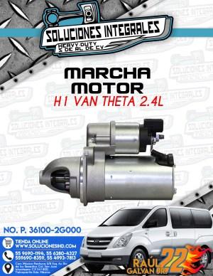 MARCHA MOTOR H1 VAN THETA 2.4L