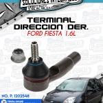 TERMINAL DIRECCION DERECHA FORD FIESTA 1.6L