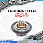 TERMOSTATO MATIZ 1.0L 2004-2017