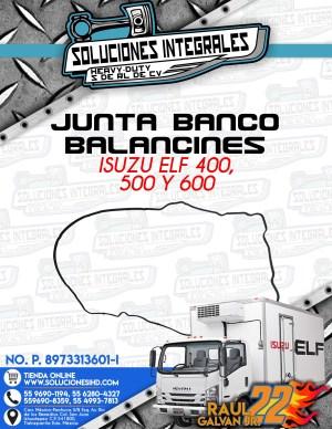 JUNTA BANCO BALANCINES ISUZU ELF 400 450 500 y 600