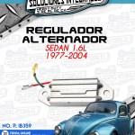 REGULADOR ALTERNADOR SEDAN 1.6L 1977-2004