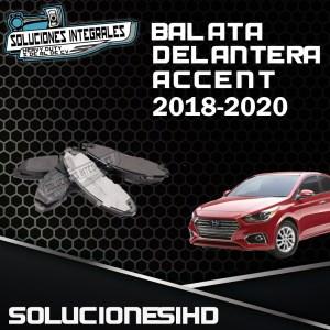 BALATA DELANTERA ACCENT 18-20