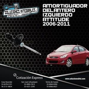 AMORTIGUADOR DELANTERO IZQUIERDO ATTITUDE 06-11