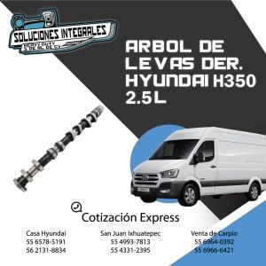 ARBOL DE LEVAS HYUNDAI H350 DERECHO