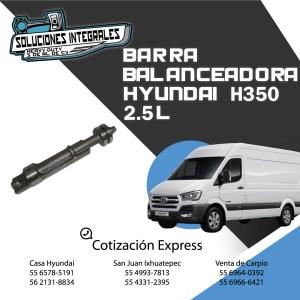 BARRA BALANCEADORA HYUNDAI H350 2.5L