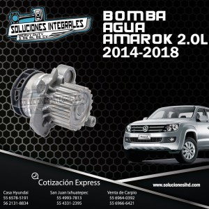 BOMBA AGUA AMAROK 2.0L  2014-2018