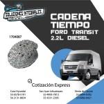CADENA TIEMPO FORD TRANSIT 2.2L DIESEL
