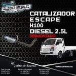 CATALIZADOR ESCAPE DESMONTADO H100 DIESEL 2.5L