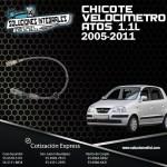 CHICOTE VELOCIMETRO ATOS 1.1L 05/11
