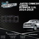 JUNTA CABEZA 1 HOYO AMAROK 2.0L 2014-2018