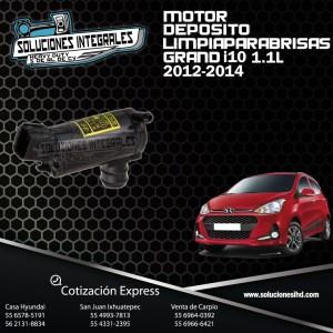 MOTOR DEPOSITO LIMPIAPARABRISAS GRAND I10 1.1L 12-14