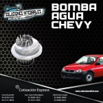 BOMBA DE AGUA CHEVY