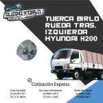 TUERCA BIRLO RUEDA TRAS IZQUIERDA H200