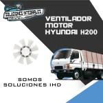 VENTILADOR MOTOR HYUNDAI H200