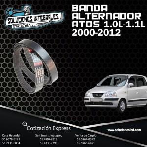 BANDA ALTERNADOR ATOS 1.0L 1.1L  00-12
