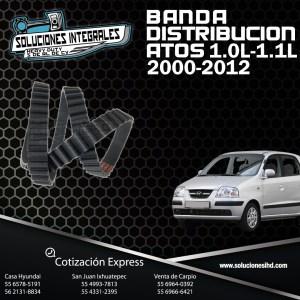 BANDA DISTRIBUCION ATOS 1.0L 1.1L  00-12