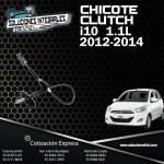 CHICOTE CLUTCH I10 1.1L 12-14