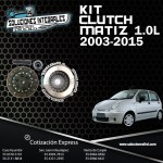 KIT CLUTCH MATIZ 1.0L 03/15