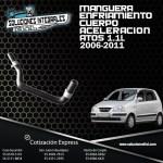 MANGUERA ENFRIAMIENTO CUERPO ACELERACION ATOS 1.1L 06-11