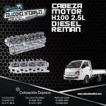 CABEZA MOTOR H100 2.5L DIESEL REMAN