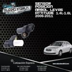 SENSOR POSICION ARBOL LEVAS ATTITUDE 1.4L-1.6L 06-11