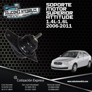 SOPORTE MOTOR SUPERIOR ATTITUDE 1.4L-1.6L 06/11