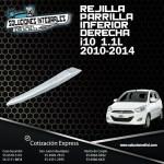 REJILLA PARRILLA INFERIOR DERECHA I10 1.1L 12-14