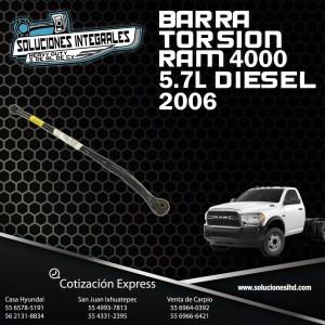 BARRA TORSION RAM 4000 5.7L