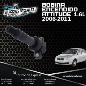 BOBINA ENCENDIDO ATTITUDE 1.6L 06/11