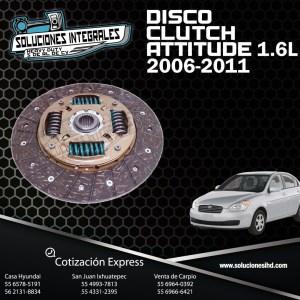 DISCO CLUTCH ATTITUDE 1.4L-1.6L 06/11