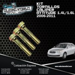 KIT TORNILLOS CALIPER ATTITUDE 1.4L-1.6L 06/11