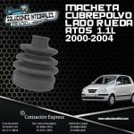 MACHETA CUBREPOLVO ATOS LADO RUEDA 1.1L