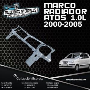 MARCO RADIADOR ATOS 1.0L 00/05